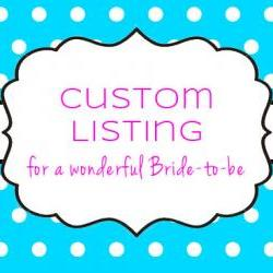 Custom Listing for Alicia for 50 Favor Tags (Just Married)
